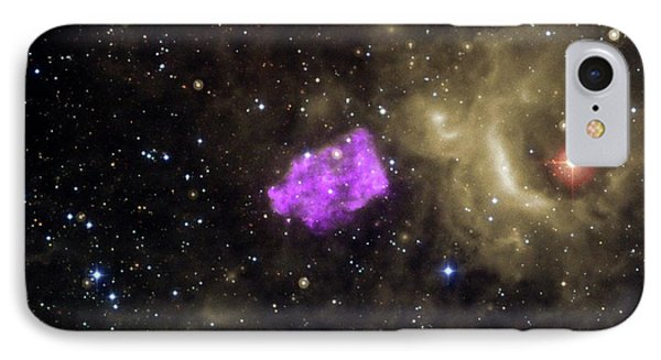 Supernova Remnant IPhone Case by Nasa