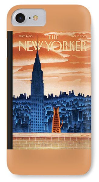 New Yorker January 12th, 2009 IPhone 7 Case