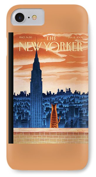 New Yorker January 12th, 2009 IPhone Case
