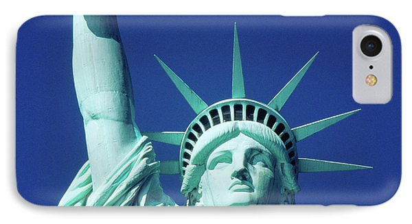 Usa, New York, Statue Of Liberty IPhone Case by Panoramic Images