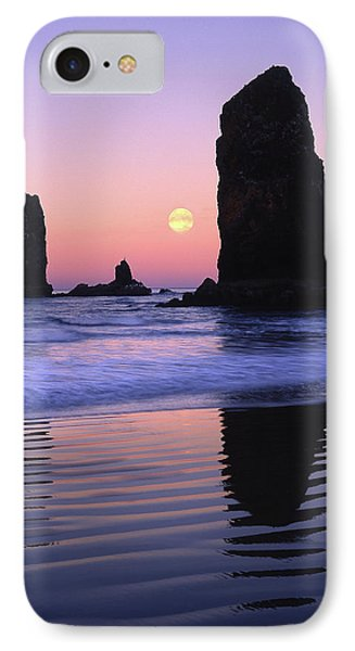 Usa, Oregon, Cannon Beach IPhone Case by Jaynes Gallery