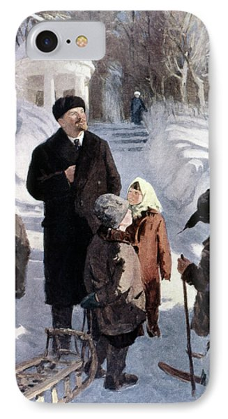Vladimir Lenin (1870-1924) IPhone Case