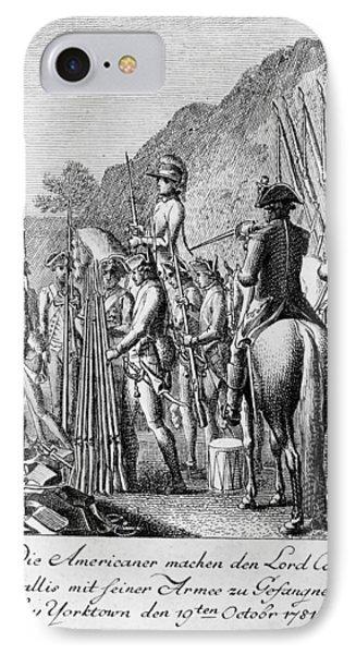 Yorktown: Surrender, 1781 IPhone Case