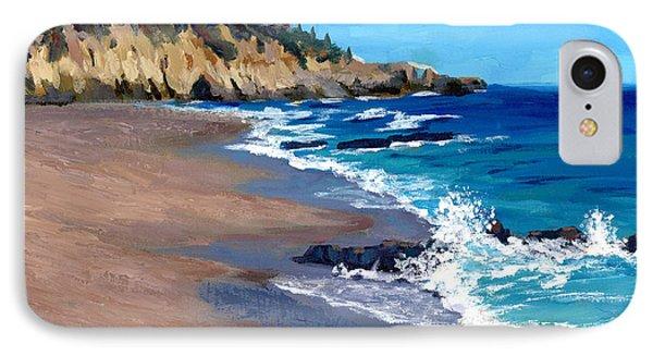 1000 Steps Beach In Laguna Beach California IPhone Case by Alice Leggett