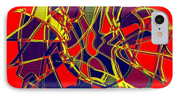 1010 Abstract Thought Phone Case by Chowdary V Arikatla
