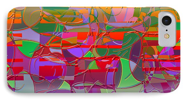 1021 Abstract Thought IPhone Case