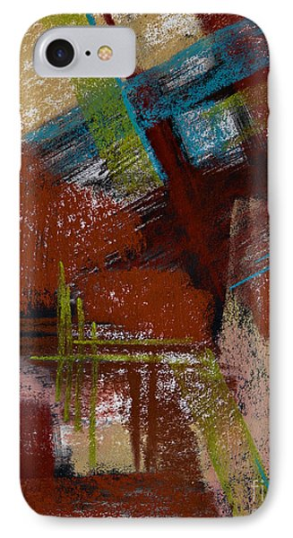 On The Diagonal Phone Case by Tracy L Teeter