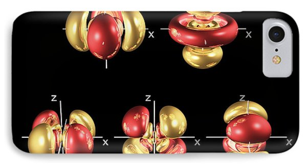 5d Electron Orbitals IPhone Case by Dr. Mark J. Winter