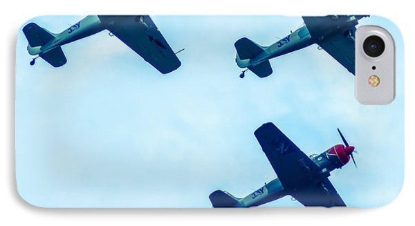 Action In The Sky During An Airshow IPhone Case