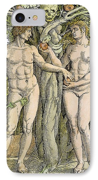 Adam And Eve Phone Case by Granger