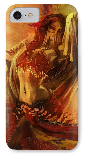 Belly Dancer 10 IPhone Case by Corporate Art Task Force