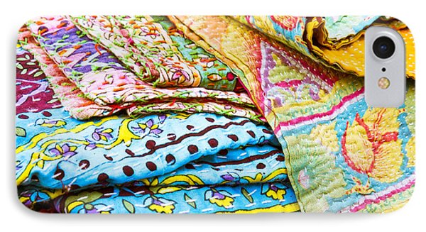 Colorful Cloth IPhone Case by Tom Gowanlock