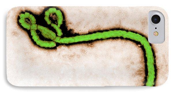 Tem Ebola Virus Phone Case by Science Source