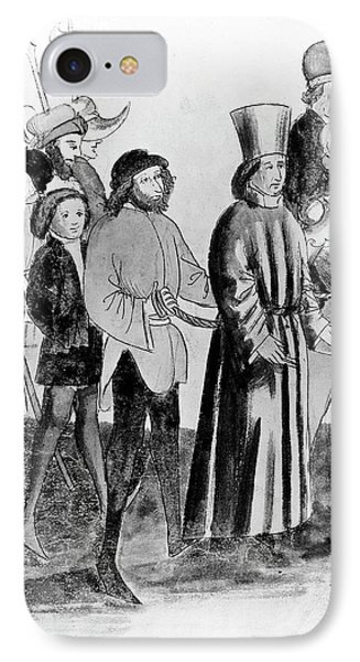 Jan Hus (c1369-1415) IPhone Case by Granger