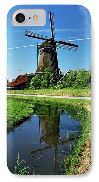 Netherlands, North Holland, Zaanstad IPhone Case by Miva Stock