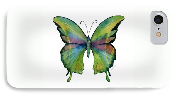 11 Prism Butterfly IPhone Case by Amy Kirkpatrick