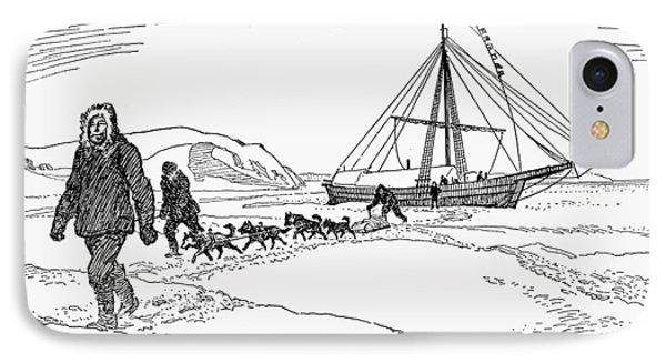 Roald Amundsen (1872-1928) IPhone Case by Granger