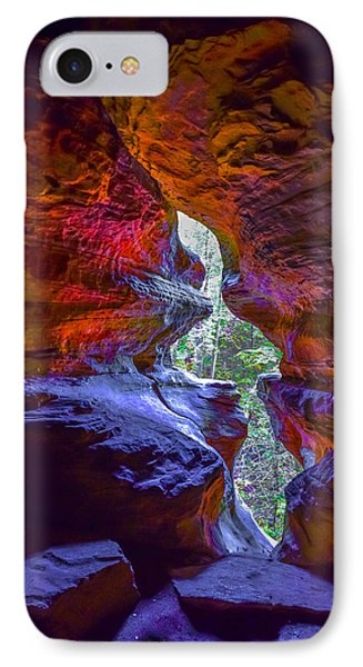 IPhone Case featuring the photograph Rock House by Brian Stevens