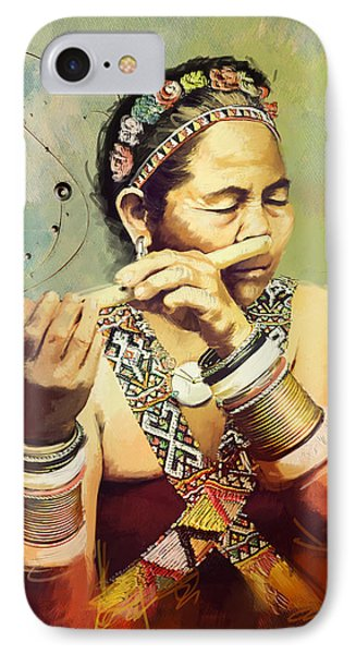 South Asian Art  Phone Case by Corporate Art Task Force