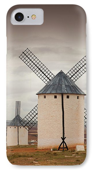 Spain, Castile-la Mancha Region, Ciudad IPhone Case by Walter Bibikow