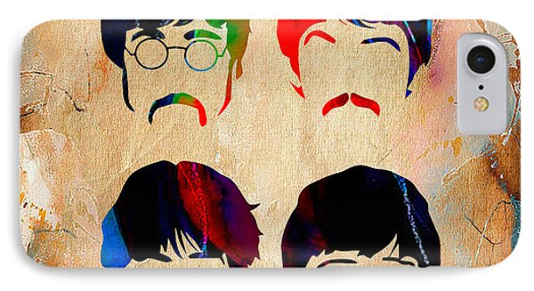 The Beatles Collection IPhone Case by Marvin Blaine