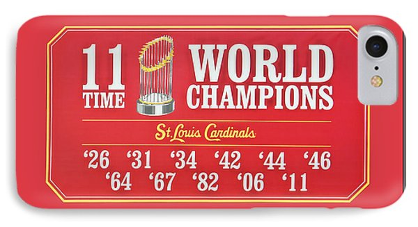 11 Time World Chapion Poster Dsc01106 IPhone Case