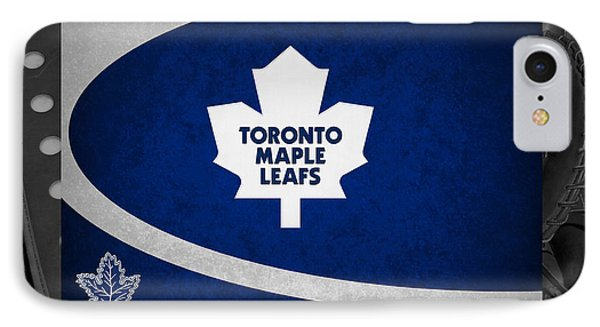 Toronto Maple Leafs Phone Case by Joe Hamilton