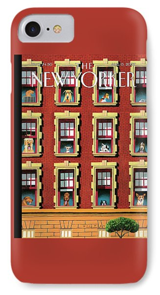 New Yorker August 13th, 2007 IPhone Case