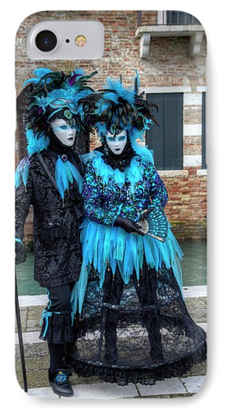 Venice At Carnival Time, Italy IPhone Case by Darrell Gulin