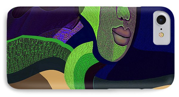 1102 - System Disorder Surreal IPhone Case by Irmgard Schoendorf Welch