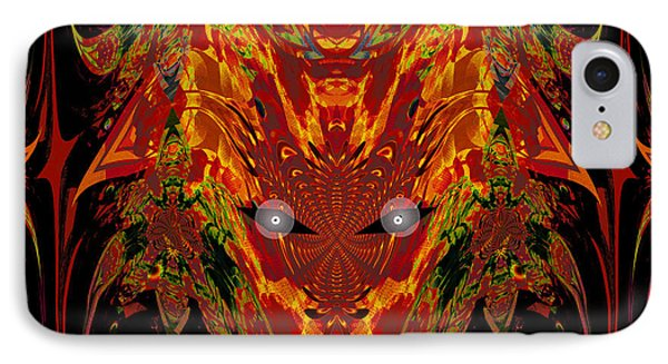 1112 -   Trace Of Evil IPhone Case by Irmgard Schoendorf Welch
