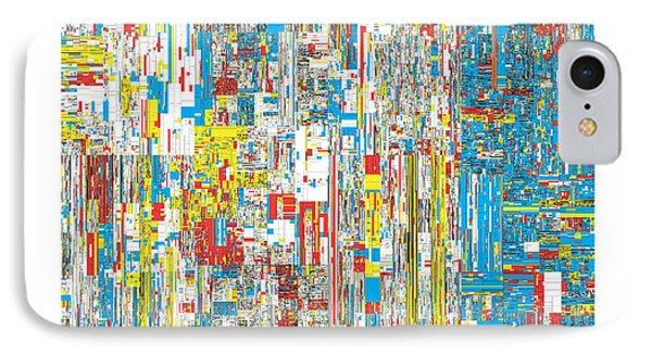 111469 Digits Of Pi Phone Case by Martin Krzywinski