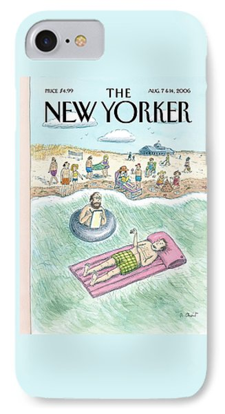 New Yorker August 7th, 2006 IPhone Case