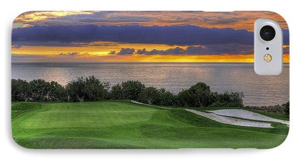 11th Green - Trump National Golf Course Phone Case by Eddie Yerkish
