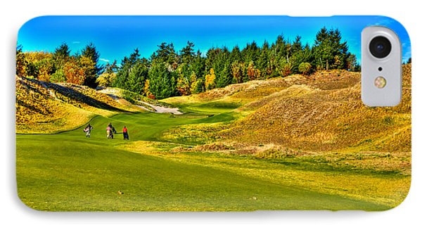 #12 At Chambers Bay Golf Course - Location Of The 2015 U.s. Open Championship IPhone Case by David Patterson