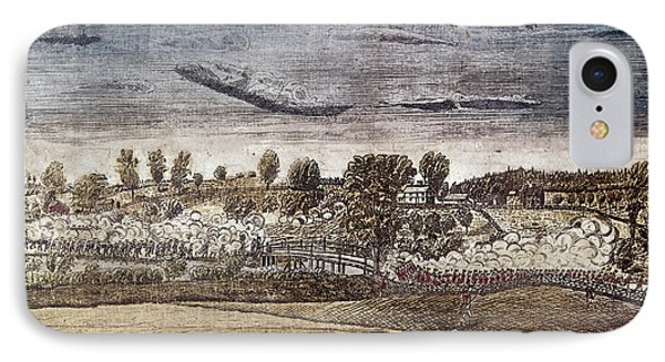 Battle Of Concord, 1775 IPhone Case by Granger