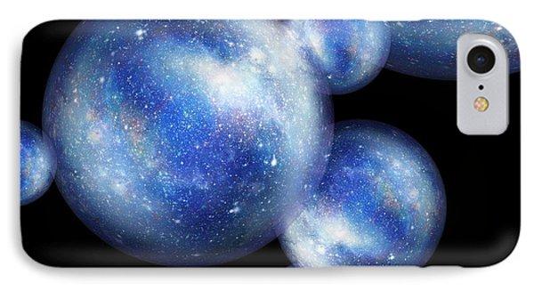 Bubble Universes IPhone Case by Detlev Van Ravenswaay