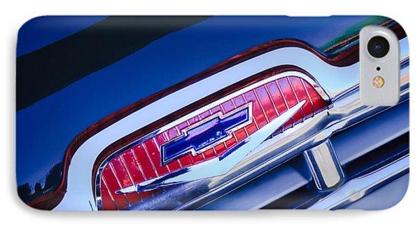 Chevrolet Grille Emblem Phone Case by Jill Reger