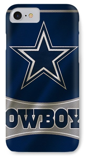 Dallas iPhone 7 Case - Dallas Cowboys Uniform by Joe Hamilton