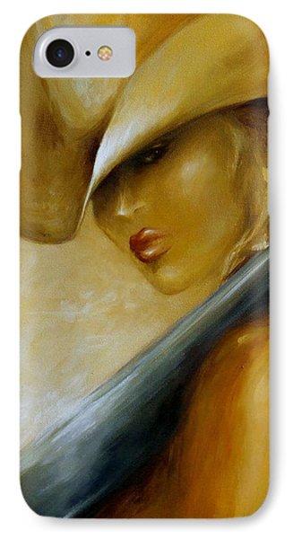 IPhone Case featuring the painting 12 Gauge Closeup by Dina Dargo