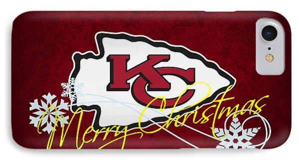 Kansas City Chiefs IPhone Case by Joe Hamilton