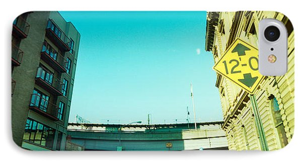 Low Angle View Of Buildings In A City IPhone Case by Panoramic Images