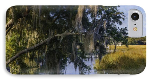 Creek Side Marsh IPhone Case