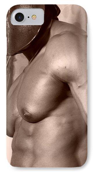 Mr. Muscle IPhone Case by Jake Hartz