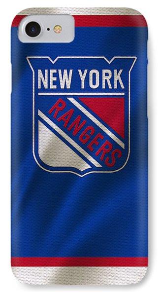 New York Rangers IPhone Case by Joe Hamilton