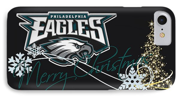 Philadelphia Eagles IPhone Case by Joe Hamilton