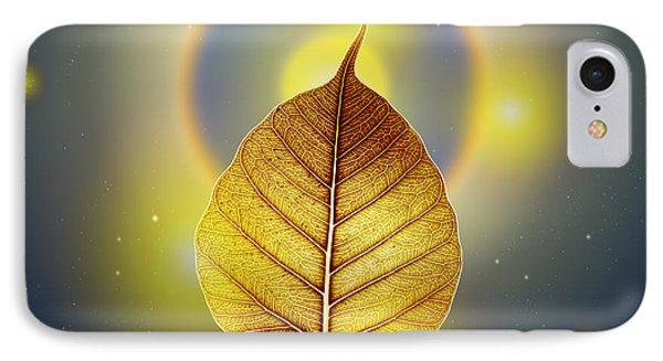 Pho Or Bodhi IPhone Case by Atiketta Sangasaeng