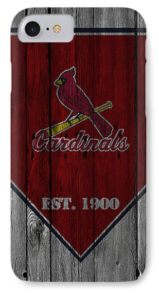St Louis Cardinals IPhone Case by Joe Hamilton