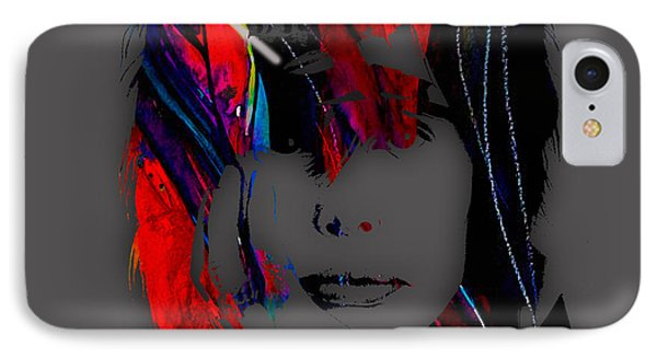 Steven Tyler Collection IPhone Case by Marvin Blaine