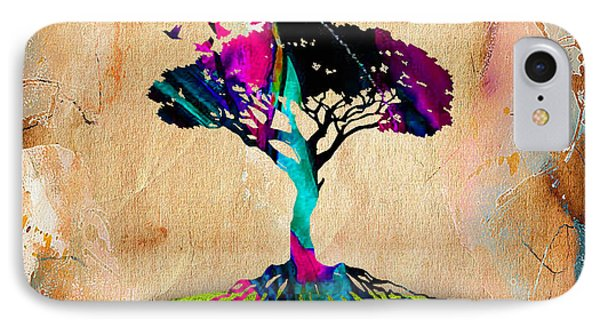 Tree Of Life Painting IPhone Case by Marvin Blaine